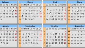 Calendario 2015 Argentina Calendario 2015 Chile Con Feriados