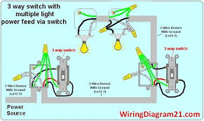 3 way switch wiring diagram multiple Wiring Diagram Tape 7 Wire Trailer Wiring Diagram