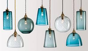 excellent pendant lights flodeau handblown glass intended for aqua light decor 9