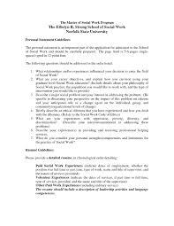 Social Work Resume Cover Letter