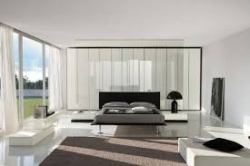 bedroom furniture black and white. White And Black Contemporary Bedroom Furniture