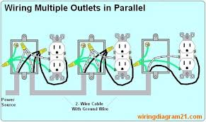 wiring multiple outlets together modern design of wiring diagram • wiring multiple outlets wiring diagram third level rh 2 11 12 jacobwinterstein com wiring multiple gfci outlets together multiple outlet wiring diagram