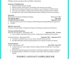 Cna Resume Objective New Free Cna Resume Samples Plus Resume Objective Statement Examples