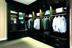 Image Bedroom Closet The Container Store Walk In Closet Light Fixtures Custom Lighting Options With