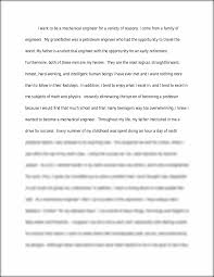 engineering essay i want to be a mechanical engineer for a this preview has intentionally blurred sections sign up to view the full version