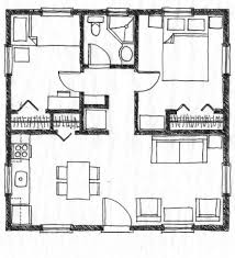Small Picture Tiny House On Wheels Floor Plans Blueprint For Construction Small