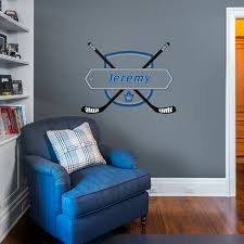 Toronto Maple Leafs Personalized Name Giant Nhl Transfer Decal