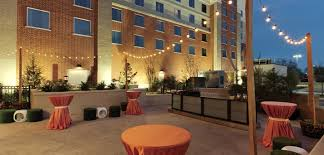 okc downtown living. embassy suites oklahoma city downtown/medical center hotel, ok - outdoor event space okc downtown living