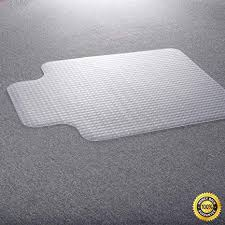 Office floor mats Rubber Colibroxpvc Home Office Chair Floor Mat Studded Back With Lip For Standard Pile Amazoncom Amazoncom Colibroxpvc Home Office Chair Floor Mat Studded Back