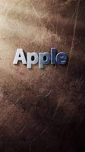 Apple logo, light rays, texture ...
