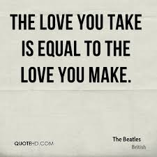 Beatles Love Quotes Extraordinary The Beatles Quotes QuoteHD