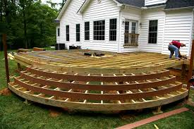 Backyard Deck Designs Plans Cool Inspiration