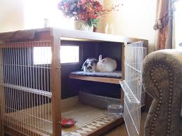 rabbit diy cage playpen table