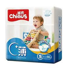 <b>Подгузники Chiaus Pro Core</b> Ultra Thin Ультратонкие S 3-6 кг 66 шт