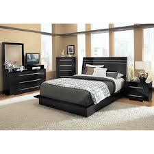 Melamine Bedroom Furniture Dimora Queen Panel Bed Black Value City Furniture