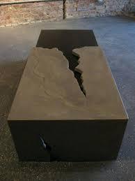 concrete table top mix round pedestal design