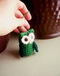 Owl Ornament - Sheep Dog's Fleece