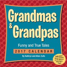 Grandmas And Grandpas 2017 Desk Calendar