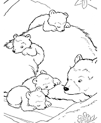 Small Picture Grizzly Bear coloring page Animals Town animals color sheet