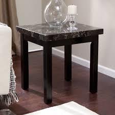 galassia faux marble end table  walmartcom