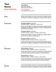 resumes doc google doc resume templates