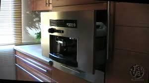 Built-in JAVA  espresso coffee machine for kitchen furniture (60 cm.) -  YouTube