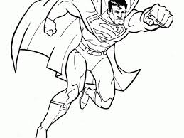free printable superman coloring pages - Coloring Pages Ideas