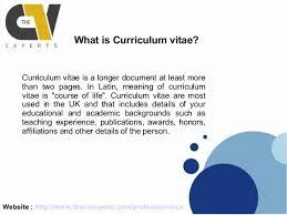 Modern Cv Curriculum Vitae Definition Ornament Resume Ideas