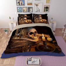 bedspread happy skull print bedding sets twin full queen king size throws bedspreads duvet