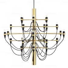 gino sarfatti model 2097 chandelier 30 designer reion