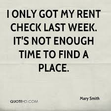 Rent Quotes Stunning Mary Smith Quotes QuoteHD