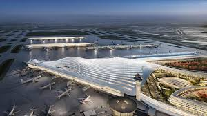 a proposed design for o hare airport s new global terminal by architect santiago calatrava does