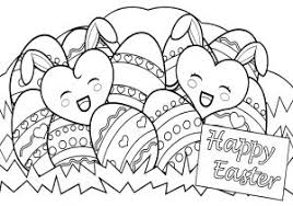Cool Happy Easter Coloring Pages Coloringsuite Free Coloring Book