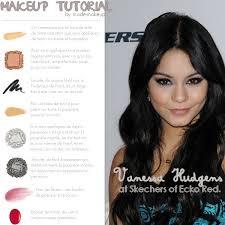 vanessa hudgens makeup tutorial image