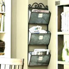 metal wall mail organizer office mail organizer office door mail holder intricate metal wall mail organizer