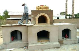 outdoor pizza oven design fireplace with decorating this desert crest landscaping project was a o outdoor fireplace with pizza oven