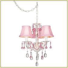 mini chandelier lamp shades amazing pink decorative nursery 18 4 pleated clip on home design ideas