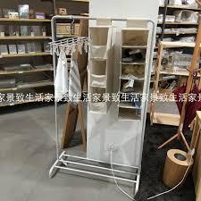 Muji Coat Rack USD 100100] MUJI Muji steel singlepole clothes rack landing level of 51
