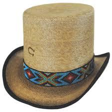 Outlaw Spirit Palm Leaf Straw Top Hat