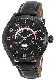 lucien piccard the capital black dial men s watch lp 40050 bb 01