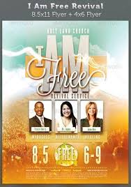 4 X 6 Flyer Template Free Church Revival Flyer Template Iflypt Com