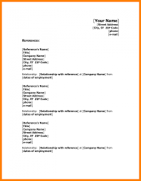 Reference On Resume 100 References Resume Example Format Of Notice 60