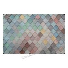 deyya multicolor texture area rug carpet 325 x 5 vogue modern floor rugs mat for office