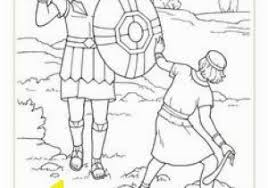 David And Goliath Coloring Pages Printable 111 Best David And