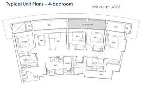 One Pearl Bank Floor Plan 4br Mysgprop