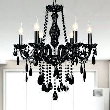 black crystal chandeliers black and crystal chandeliers chandeliers ch 8 chrome black and white crystal chandelier