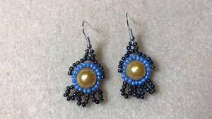 Beaded Earring Patterns For Beginners Cool Design