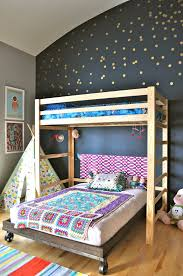 Colorful Interior Design interior classy colorful bunk bed interior design with grey wall 4459 by uwakikaiketsu.us