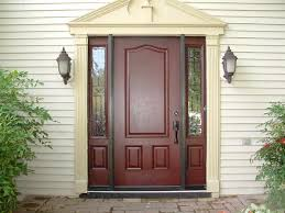 front door with one sidelightfront door with sidelights colors  Front Door with Sidelights
