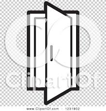 open front door clipart. beautiful front door clipart black and white open